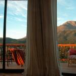 Vista de las habitaciones del Hotel Terrazas del Uritorco en Capilla del Monte